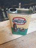 Blik Kettingolie Honing Drop Likeur 50cl_