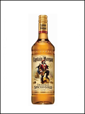 CAPTAIN MORGAN SPICED LTR