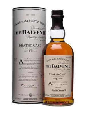 BALVENIE PEATED CASK 17Y 70CL