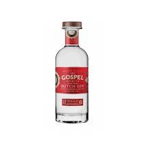 Gospel Dutch Dry Gin 70cl