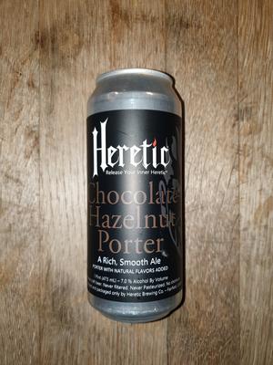 HERETIC CHOCOLAT HAZELNUT PORTER 47.3CL