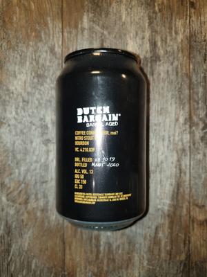 Dutchbargain Coffee Connaisseur Barrel Aged 33cl