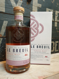 Le Breuil Single Malt Sherry Oloroso 70cl