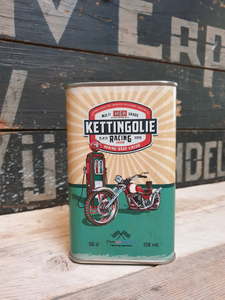 Blik Kettingolie Honing Drop Likeur 50cl