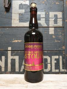 Diggelfjoer Fryske Imperial Stout Bourbon Barrel Aged 75cl