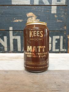 Brouwerij Kees X Hair Of The Dog Matt Barrel Project 21.04 Commemorative Ale 33cl