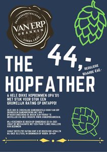 The HopFather Box Van Erp Dranken X TheDutchBeerDad 6x44cl