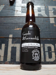 Brouwerij De Molen Gouds & Eerlijk Stroopwafel Barley Wine Limited Edition 33cl