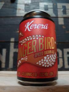Kereru Ginger Bird Spiced Brown Ale 33cl