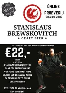 Stanislaus Brewskovitch Online Proeverij Box 5x33cl