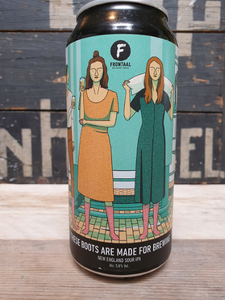 Brouwerij Frontaal These Boots Are Made For Brewing New England Sour IPA 44cl
