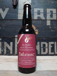 De Dochter Van De Korenaar Embrasse Peated Islay Whisky Barrel Aged Dark Ale 33cl