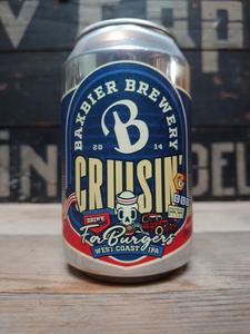 Baxbier Cruisin' for Burgers West Coast IPA 33cl