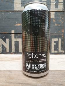 Belching Beaver Deftones Ohms Pale Ale 47.3cl