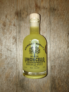 *Tweede week Juli weer op voorraad* Drunken Monkey Limoncello Picollo 20cl