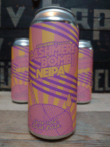 Sloop Brewing Cashmere Bomb NEIPA 44cl