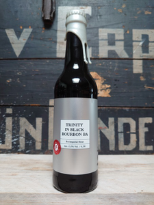 Puhaste Trinity In Black Bourbon BA Imperial Stout Silver Series 33cl