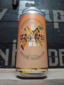 Baxbier X Dutch Bargain It's A Small World After All Passionfruit Milkshake IPA 44cl
