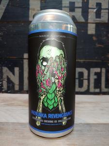 Mason AleWorks X Beer Zombies Motueka Revenge Hazy DIPA Motueka Version van erp dranken