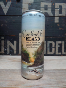 Humble Forager Enchanted Island Imperial Tiki Sour Ale van erp dranken