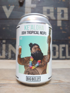 Big Belly Brewing Ke'Aloha DDH Tropical NEIPA Van Erp Dranken